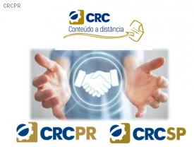 CRCPR assina termo de cooperação técnica com CRCSP para disponibilizar cursos gratuitos em plataforma de educação a distância