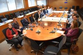 Reunião da Comissão de coordenadores de cursos e professores de Ciências Contábeis teve 12 instituições representadas