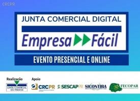Junta Comercial Digital – Empresa Fácil é tema de evento nesta quarta (19), com transmissão ao vivo