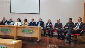 Delegado regional de Toledo participa de solenidade do Conselho Municipal dos Direitos da Criança e do Adolescente