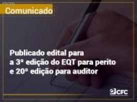 Abertas as inscrições para Exames de Qualificação Técnica (EQT)