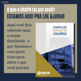 Carta de Serviços ao Usuário detalha tudo o que o CRCPR faz pelo o profissional da contabilidade e pelo o cidadão