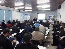 CRCPR realiza reunião com profissionais contábeis em Foz do Iguaçu