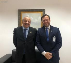 CRCPR reúne-se com Corregedor-Geral de Justiça do Paraná