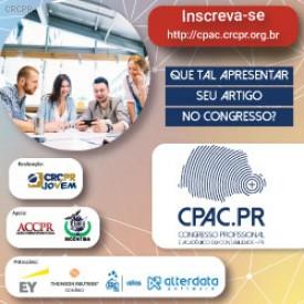 Submissão de artigos para o I Congresso Profissional e Acadêmico do Paraná foi prorrogada para 06/09