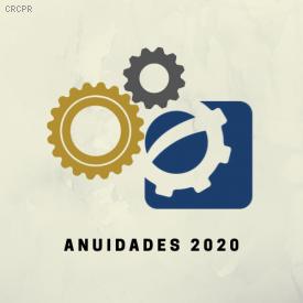 Valores das anuidades serão mantidos em 2020