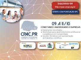 Comissão organizadora do CPAC.PR divulga relação dos trabalhos científicos selecionados para apresentação