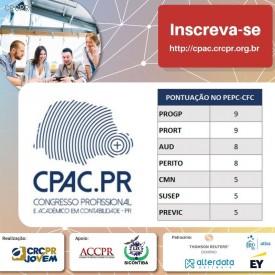Participação no CPAC.PR é oportunidade imperdível para quem precisa cumprir pontuação da Educação Continuada
