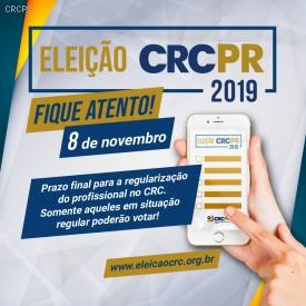 Eleições Sistema CFC/CRCs 2019: CRCPR tem chapa única inscrita para renovação de 1/3 do plenário