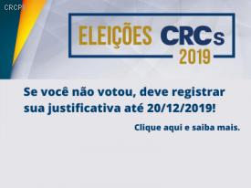 Esta é a última semana para justificar sua ausência de voto nas Eleições CRCPR 2019