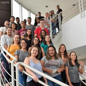 Estudantes de Paraíso do Norte visitam a Sede do CRCPR