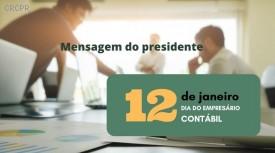 Empresários Contábeis do Paraná! Parabéns pelo seu dia!