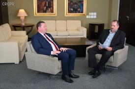 Confira aqui destaques da primeira entrevista concedida pelo novo presidente do CRCPR