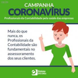 CRCPR intensifica comunicação aos profissionais da contabilidade no período da crise do corona vírus