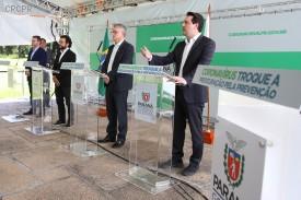 Governador do estado do Paraná anuncia medidas para preservar os empregos, que incluem prorrogamento do pagamento de ICMS de empresas do Simples Nacional