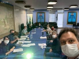 CRCPR participa de reunião do Conselho Municipal de Urbanismo de Curitiba
