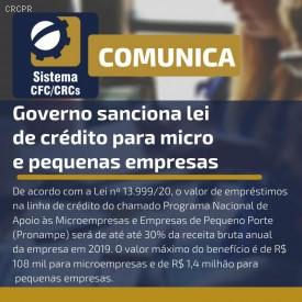 Governo sanciona lei de crédito para micro e pequenas empresas