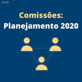 Comissões do CRCPR definem planejamentos e estratégias para 2020