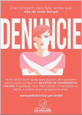 Procuradoria da Especial da Mulher da ALEP lança campanha de combate ao feminicídio