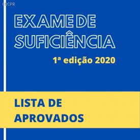 Candidato do Paraná obtém a primeira colocação no Exame de Suficiência