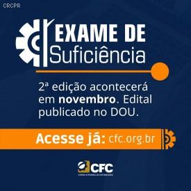 Segunda edição do Exame de Suficiência acontecerá em novembro deste ano