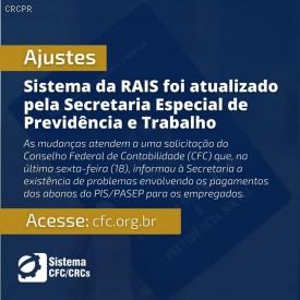 Sistema da RAIS foi atualizado pela Secretaria Especial de Previdência e Trabalho