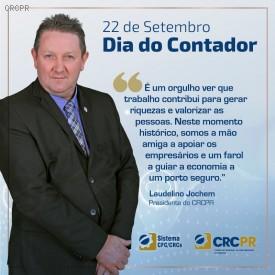 CRCPR celebra Dia do Contador com palestras virtuais para estudantes, profissionais e campanha de valorização nas redes sociais