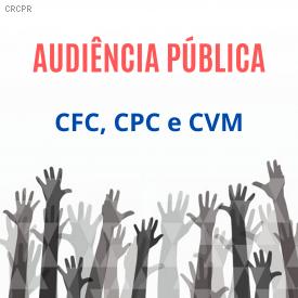 Audiências Públicas discutem normas sobre Relato Integrado e entidades em liquidação
