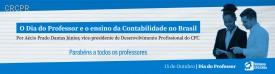 O Dia do Professor e o ensino da Contabilidade no Brasil