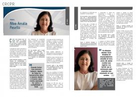 Conselheira do CFC Nilva Amália Pasetto fala sobre sua carreira na Revista Abracicon