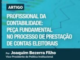Artigo: O profissional da contabilidade: peça fundamental no processo de prestação de contas eleitorais