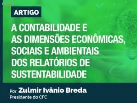 A Contabilidade e as dimensões econômicas, sociais e ambientais dos Relatórios de Sustentabilidade
