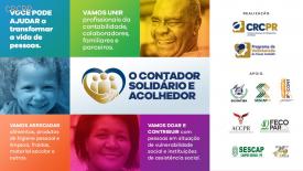 O Contador Solidário e Acolhedor: Drive Thru do Bem será neste sábado, no estacionamento do CRCPR