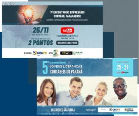 Paraná: eventos virtuais para empresários contábeis e jovens lideranças movimentam a penúltima semana de novembro