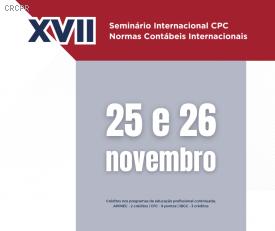 Seminário internacional aborda o andamento das IFRS no Brasil