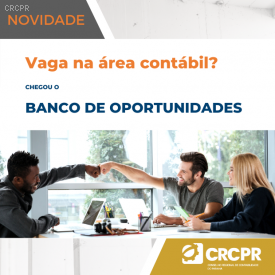 NOVIDADE! chegou o Banco de Oportunidades do CRCPR
