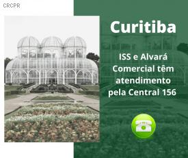 Em Curitiba, serviço telefônico 156 atende demandas mais comuns de profissionais contábeis e cidadãos sobre o ISS e Alvará Comercial