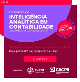 Inteligência Analítica em Contabilidade: curso de curta duração idealizado pela PUCPR e CRCPR está de volta com aulas online, transmitidas em tempo real