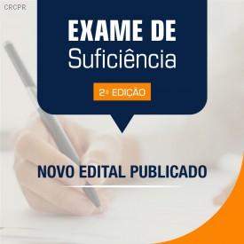 Exame de Suficiência: extrato do edital de retificação está disponível
