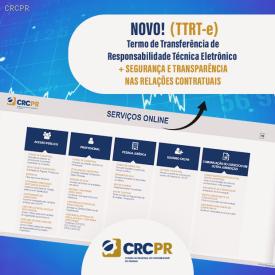 Transferência de Responsabilidade Técnica do contador já pode ser registrada eletronicamente no site do CRCPR